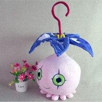 Цифровые игрушки digimon-монстры  плюшевые игрушки piocomon  45 см  высокое качество  короткая плюшевая кукла  подушка  косплей  подарок  бесплатная д...