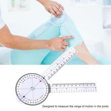 5Pcs Medical Angle Ruler 6//8//10inch 360 Degree Protractor Angle Medical Ruler Spinal Goniometer Set 1