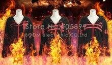 FFF Cosplay Colección de Algodón Sudaderas Hoodies Hombres Mujeres Tops Traje Negro traje de Halloween