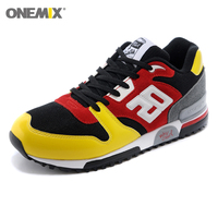 ONEMIX Men Retro 750 Running Shoes Rubber Leather Sport Women Trainers Sneakers Breathable Female Walking Jogging Shoes EU 36 44