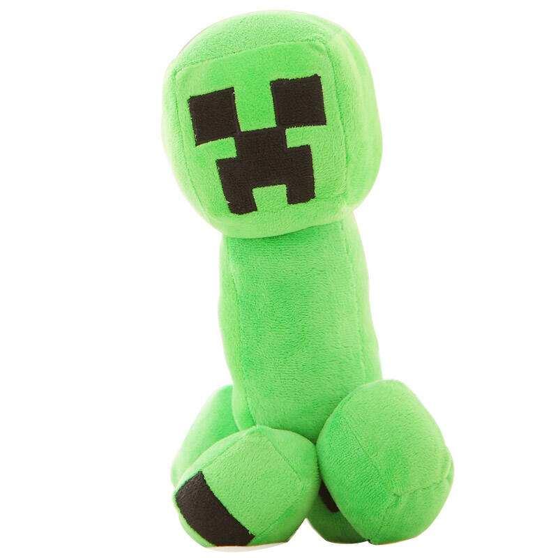 30/40/45 cm Cartoon Game Minecraft TNT Creeper Plush Toy Stuffed Doll Toy Pillow Children Chair Gift Stuffed TNT Keychain