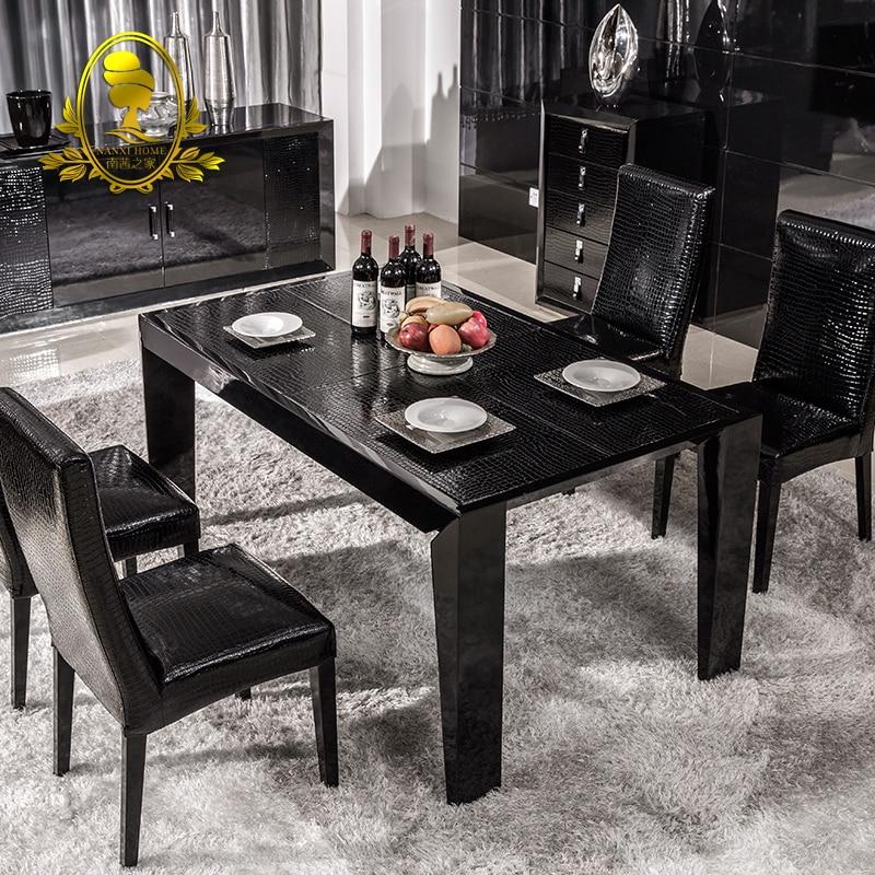 Scuro legno mobili sala da pranzo acquista a poco prezzo - Pittura sala da pranzo ...