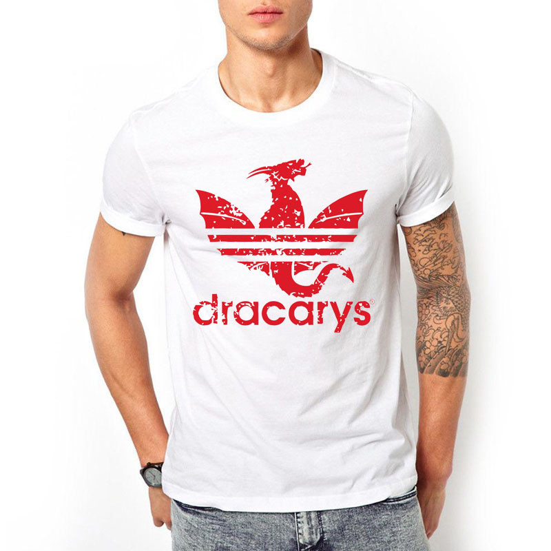 Dracarys Sport Game Of Thrones Men Women T shirt Harajuku Camiseta Hombre Printed Adults Shirt Casual Tee Shirts in T Shirts from Men 39 s Clothing