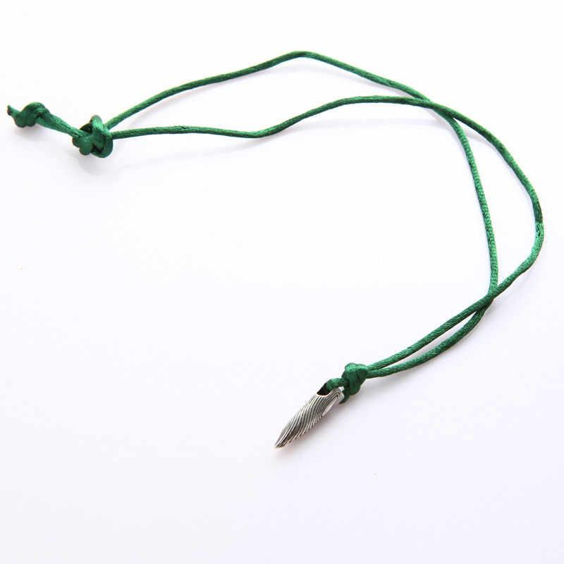 Nueva venta Vintage bala dije de collar para hombres mujeres aleación bala colgante joyería de películas Bijoux soldado amigo regalo al por mayor