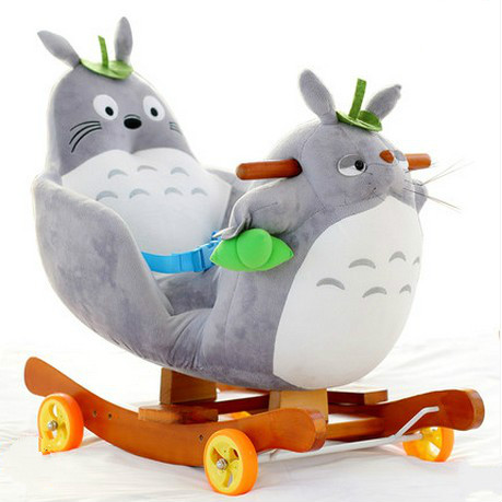 Rocking horse baby Trojan baby rocking chair children shaking car early education educational toys rocking horse