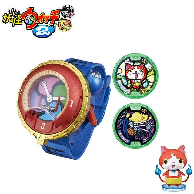 Японский оригинал подлинная игрушка youkai часы имеют звуковое и световое (Японская версия) для детей