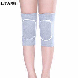 1 Pair Dance Volleyball Knee Pads Women Sponge Yoga Basketball Knee Support S509