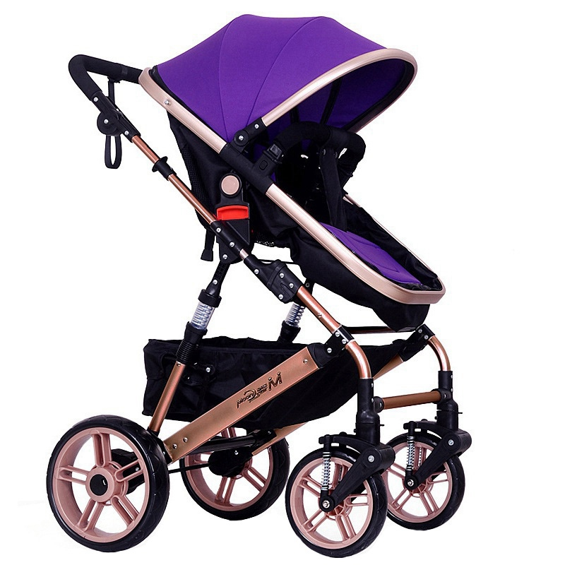 Top Selling Lightweight Baby Stroller Foldable Infant Pushchair Newborn Comfy Carriage Sunshade Pram Toddler Buggy