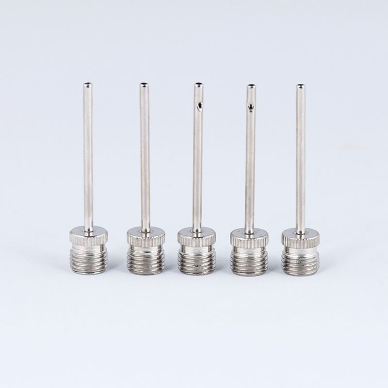 5PCS/LOT Pump Nozzle Bicycle Basketball Football Soccer Inflation Parts Adapter Stainless Steel Zinc Alloy Schrader A/V Valve
