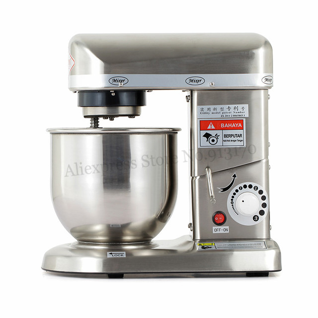 Stainless Steel Kitchen Aid Mixer Professional Electric Stand Dough 220v 240v 500w 10l