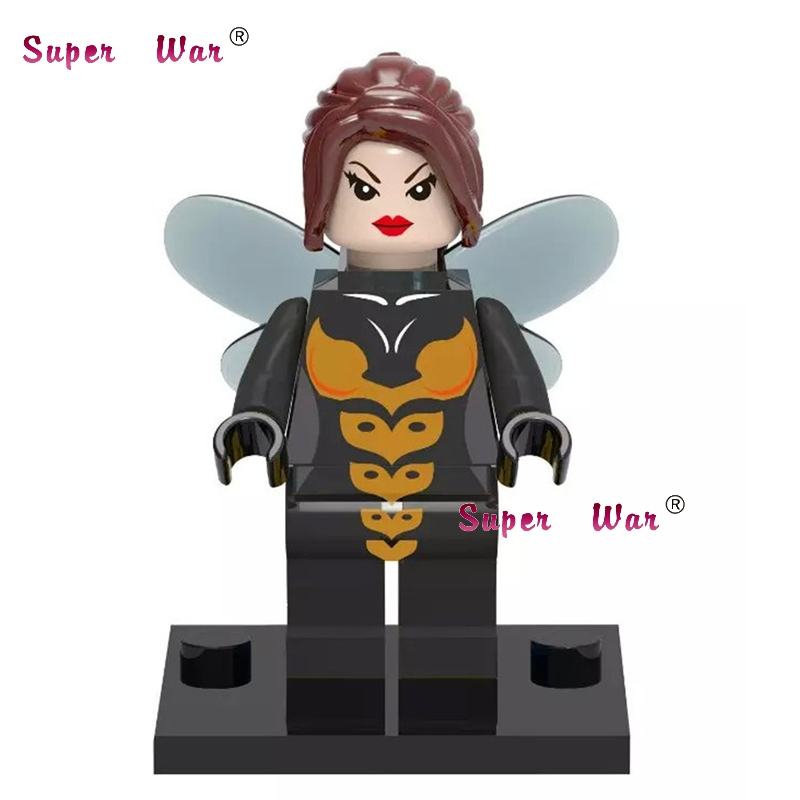 20pcs star wars superhero marvel the Wasp building blocks action figure bricks model educational diy baby toys