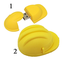 Real Hard Hat Pendirve Safety Helmet Shape USB Flash Drive Memory Stick Disk Pen Drive 4G 8GB 16GB 32G 64G 128G Free Shipping