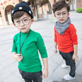 Baby Boy Sweaters 2016 New Autumn Winter Solid Color Knit Cardigan O-neck Pullovers Tops Toddler Kids Basic Clothes Christmas