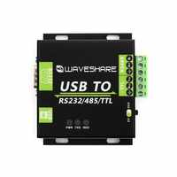 Waveshare USB to RS232/485/TTL Interface Converter, Industrial Isolation