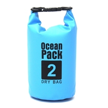 2L 5L 10L Outdoor Waterproof Bag Ultralight Camping Hiking River Trekking Dry Bag Organizer Drifting Kayaking Swimming Bag OS104