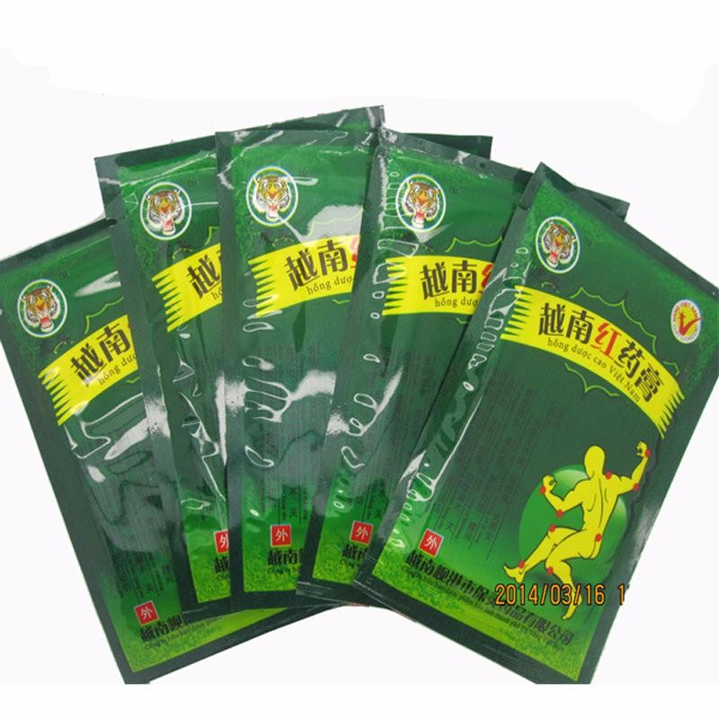 MQ 104pcs/13 Bags Vietnam Red Tiger Balm Plaster Muscular Pain Stiff Shoulders Pain Relieving Patch Relief Health Care Product foot care massager health care plaster treatment heel pain stimulate the zb pain relief achilles tendinitis medical plasters