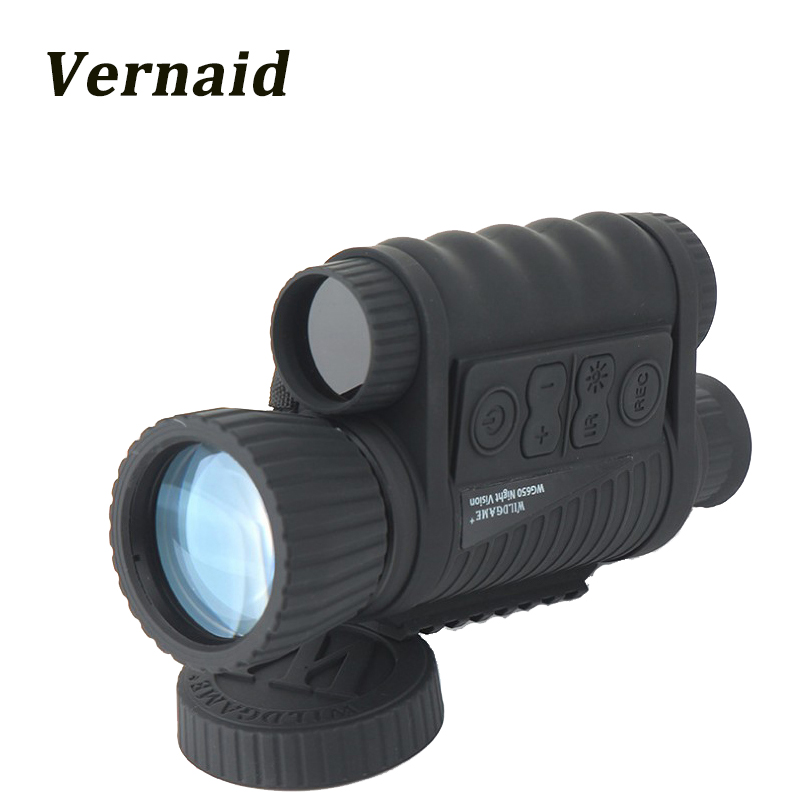 Binoculars night vision with digital camera 6X50mm 5MP HD Hunting Infrared 850NM Night Vision Telescope High Magnification цена и фото