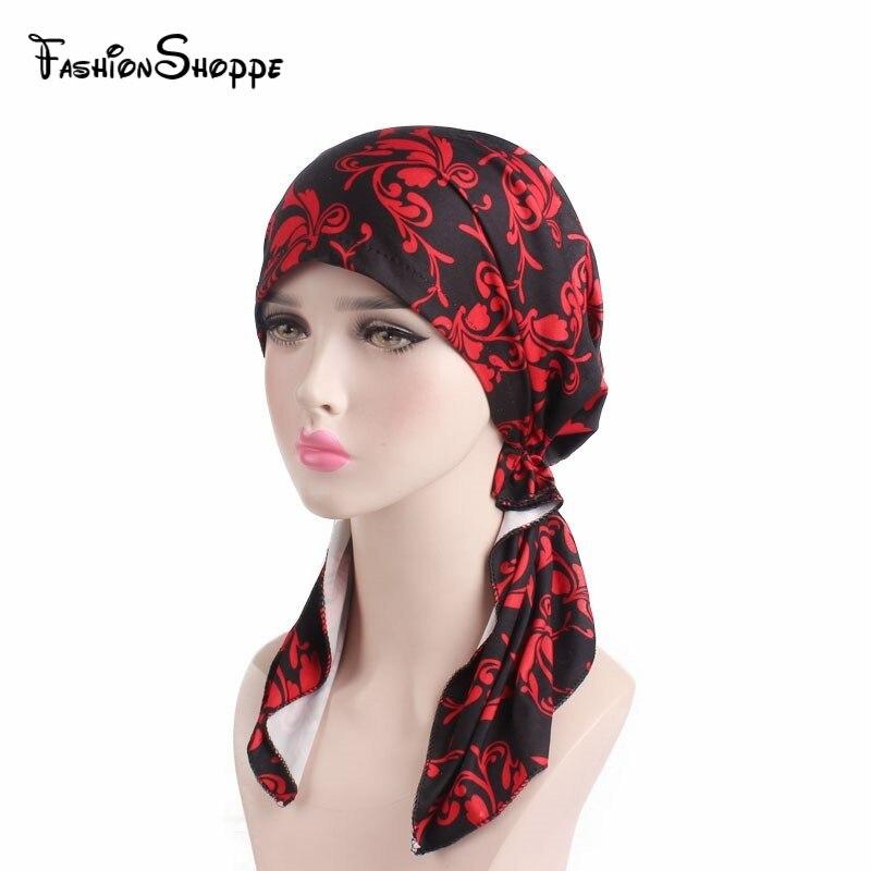 Women Men Boho Head Wrap Cap Hat Multifunctional Head Cover Headwear