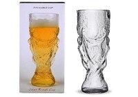 Bière Steins de Cristal Le Football Coupe Du Monde Design Verre de Vin Bière Tasse