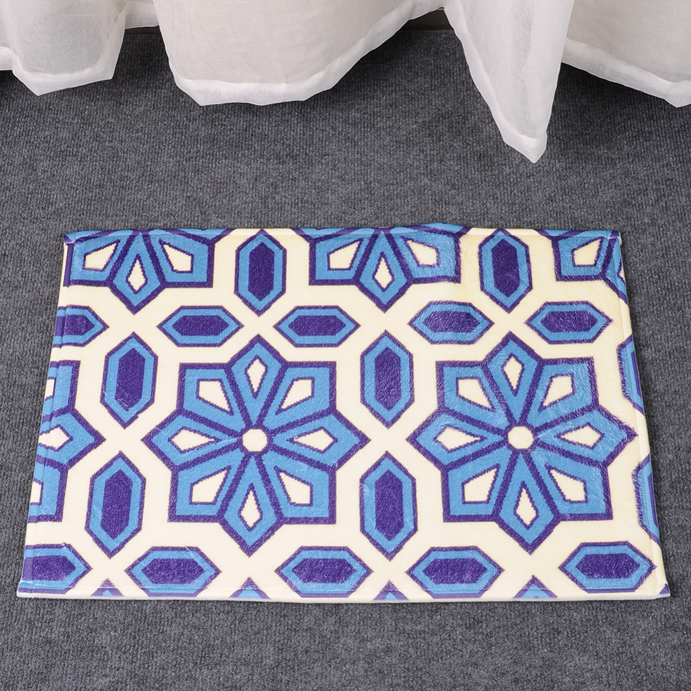 NEW Creative Pattern Anti Slip Carpets font b Floor b font Mats Bathroom font b Kitchen