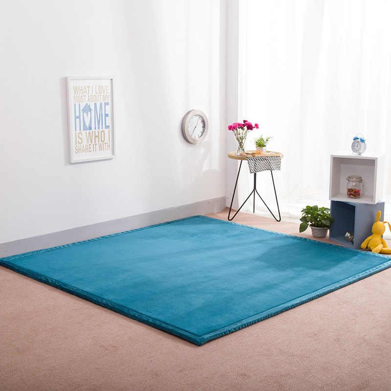 Детский Блестящий детский игровой коврик головоломка татами коврик гостиная утолщенная спальня Carpe 200*180 см детский коврик для ползания коврик