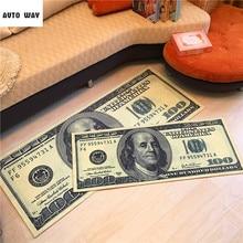 vloermatten geld matten Nachtkastje