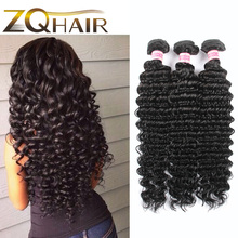 2016 Top Fashion Sale Malaysian Virgin Hair Stema Company 7a Unprocessed Virgin Deep Wave Brazilian Hair 4 Pcs Cheap Bundles