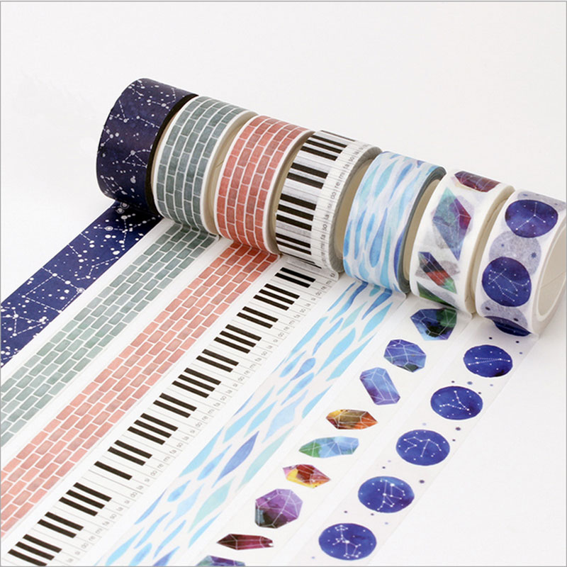 15 20mm 8m japan hand account washi tape diy decoration for Decoration tape