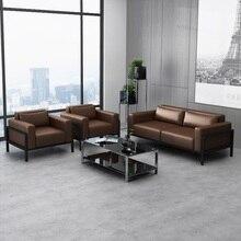 Офисный зал ожидания диван набор/Лобби низкая спинка дивана с подушкой/клубный стул диван