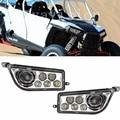 Polaris RZR 1000 Chrome LED Headlight 2015-2017 Polaris RZR 900 Conversion Led Headlight Kit 2014-2016 RZR XP 1000 XP TURBO Lamp