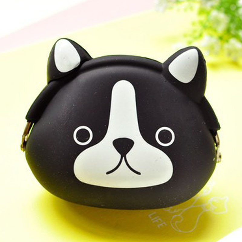 Coin Purses New Coin Purse Mini Silicone Animal Small Coin Purse Lady Key Bag Purse Children Gift Prize Package Kinder Carteira Feminina