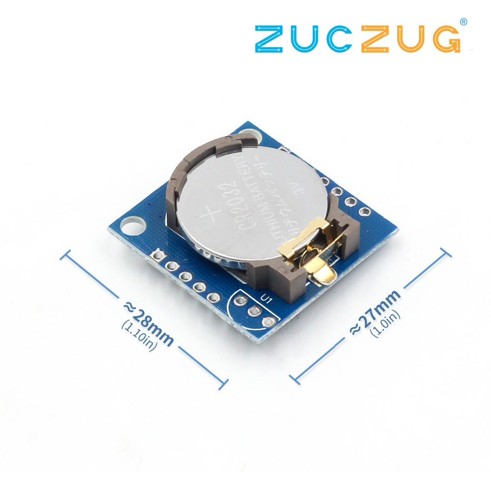 1PCS The Tiny RTC I2C Modules 24C32 Memory DS1307 Clock RTC Module