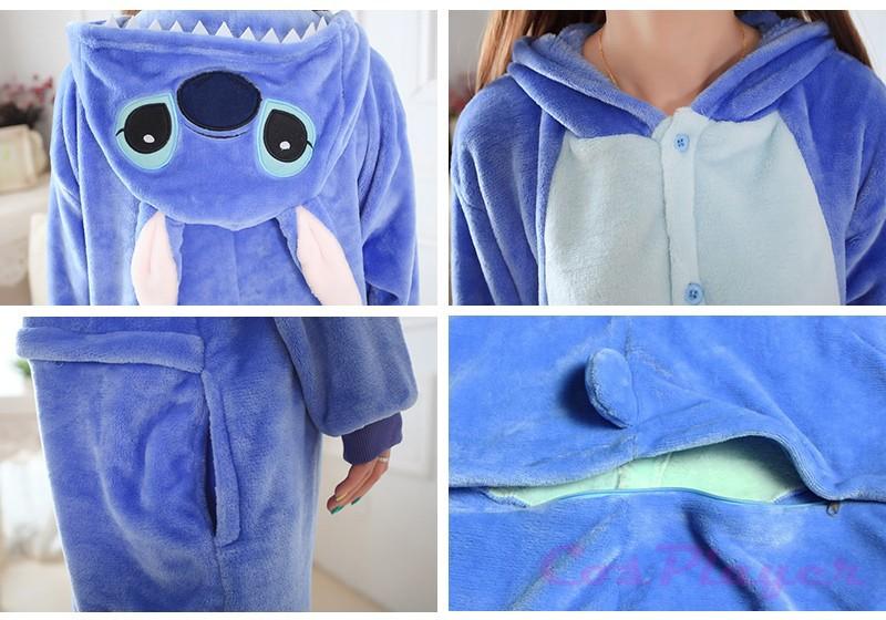 Blue stitch pyjamas