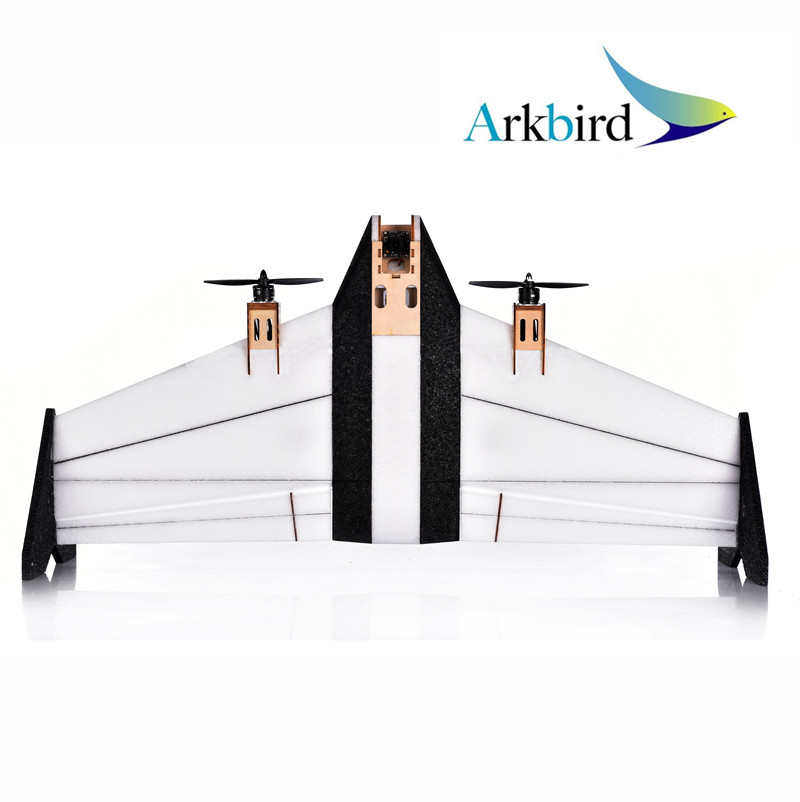 Arkbird VTOL Vertical Take-off and Landing RC Aircraft Airplane PNP Version for fpv fixed wing compatible with autopilot 2.0