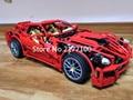 Decool 3333 técnica el 599 gtb supercar serie de carreras de coches 1:10 de bloques de construcción niño juguetes clásicos compatibles con 8070