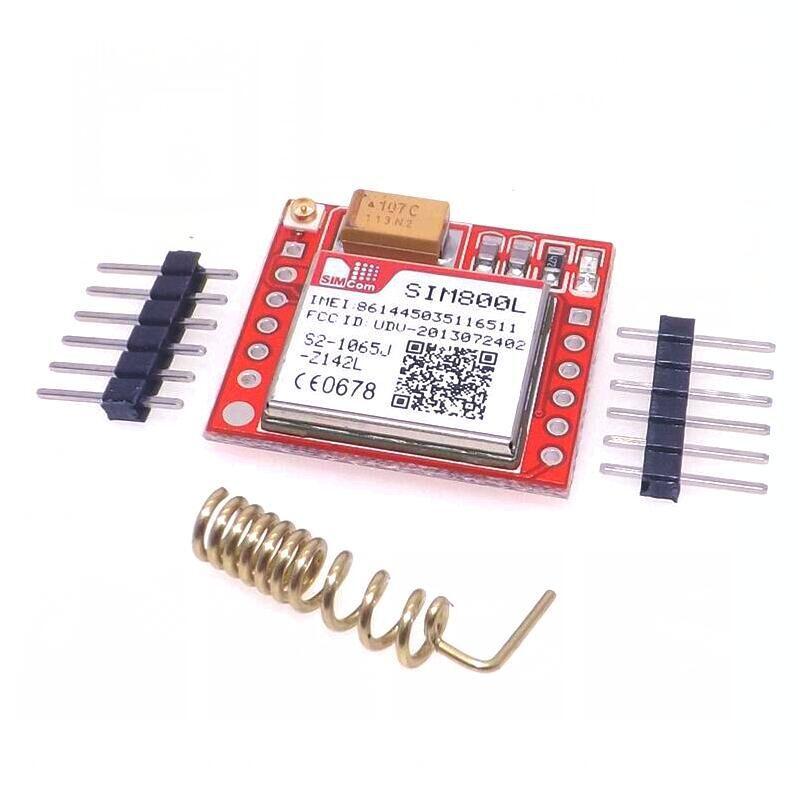 Smallest SIM800L GPRS GSM Module Micro SIM Card Core BOard Quad-band TTL Serial Port