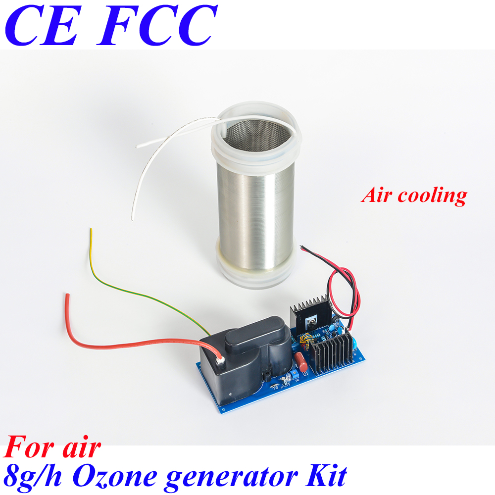 Pinuslongaeva CE EMC LVD FCC 8g/h Quartz tube type ozone generator Kit for air ozone air generator car air disinfection home