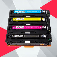 4PK Compatible CF400A CF400 CF401A 403A 201A Color Toner Cartridge For hp Color LaserJet Pro M252dn M252n MFP M277dw M277n M274n|Toner Cartridges| |  -