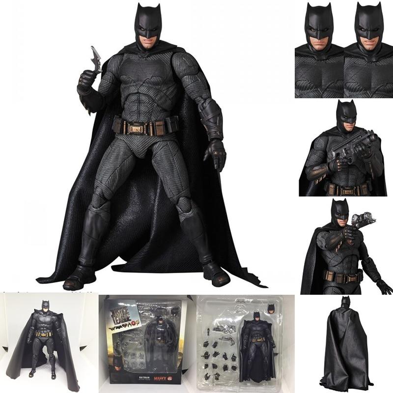 Image 2 - DC Justice League Super Hero MAFEX MAF Batman 056 Flash 058 Wonder Woman 048 Superman 057 Spiderman 047 Action Figure Toy DollAction & Toy Figures   -
