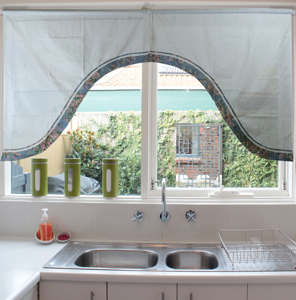Cheap kitchen curtains window treatments - Top Grade Window Treatments Exquisite Jacquard Arched Swag Valance For Door Kitchen Curtains 35