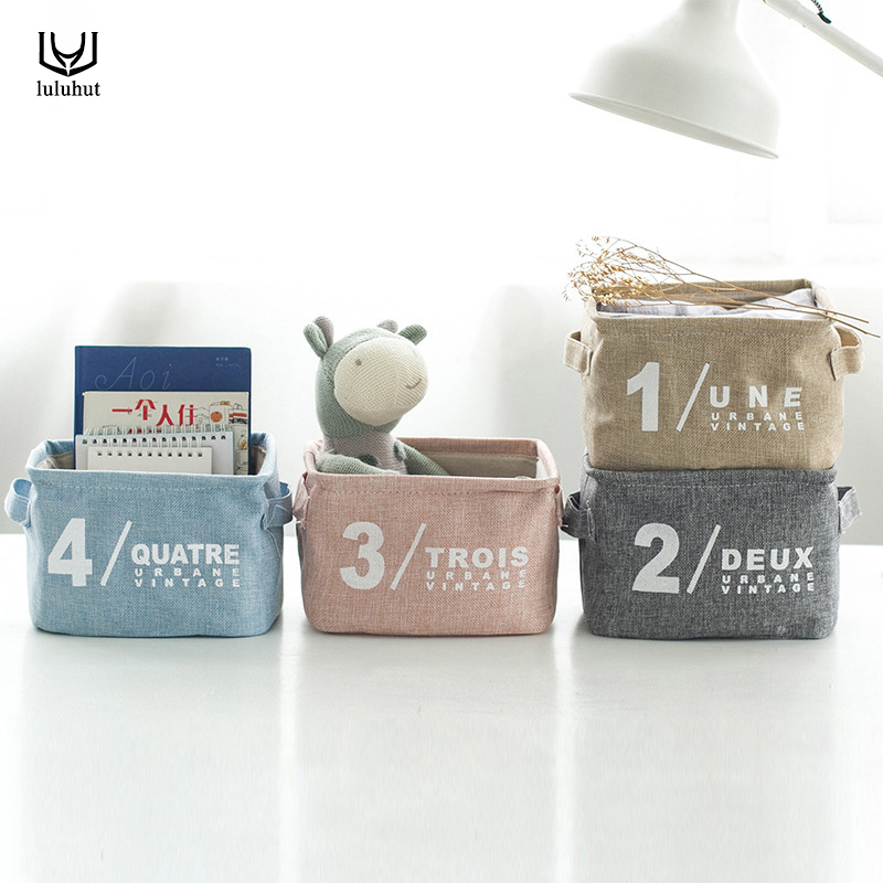 luluhut opbergdoos make-up cosmetische organizer sieraden diversen box office desktop case draagbare thuis organizer mand