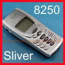 Восстановленный Мобильный телефон Nokia 8250 2G GSM 900/1800 разблокирован 8250 телефон и Щепка и один год гарантии