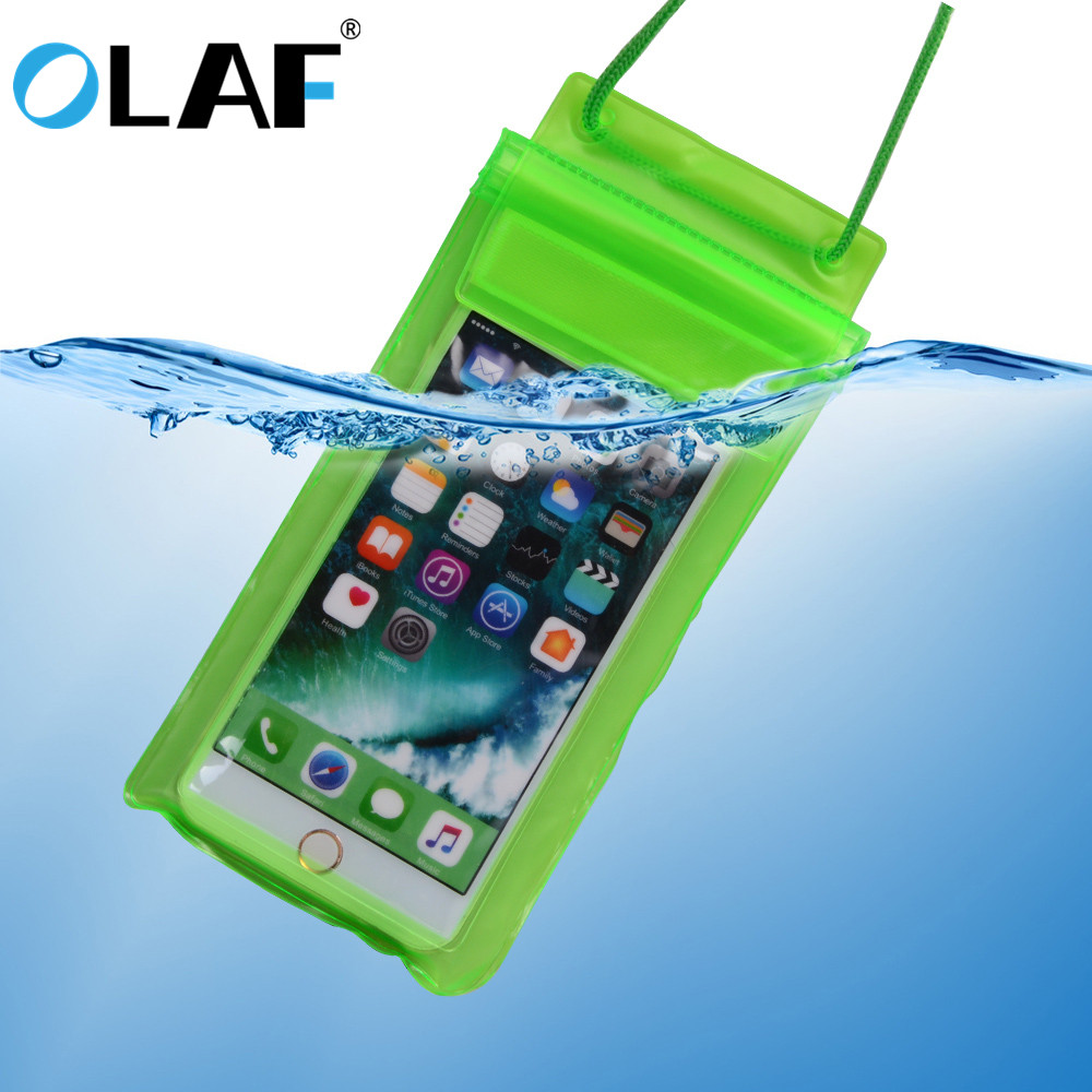 Olaf Universal Waterproof Case For iPhone X 8 7 6 s Plus Cover Pouch Waterproof Bag Case For Phone Coque Waterproof Phone Case