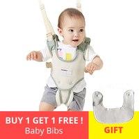 Leash for Children Baby Walker Harness Breathable Safe Walking Belt Assistant Toddler Adjustable Safety 2 In 1 backpack Reins