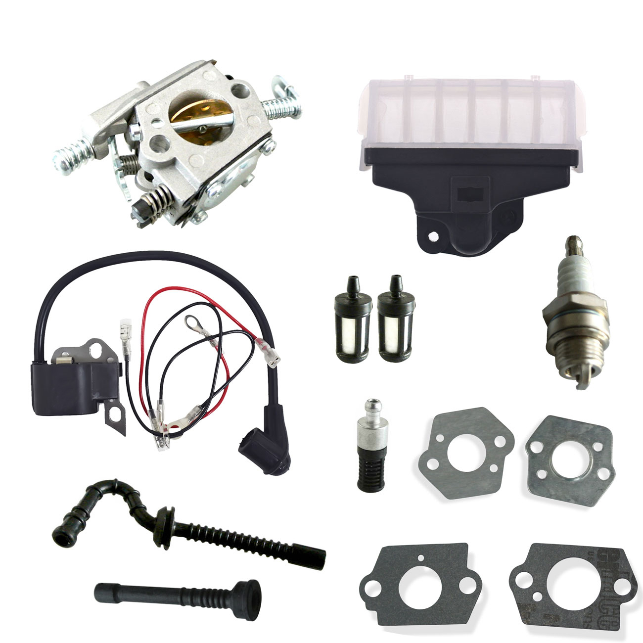 Carburetor Ignition Coil Air Filter For STIHL 021 023 025 MS210 MS230 Chainsaw Engine цена 2017