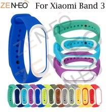 Sport Mi Band 3 Strap wrist strap for Xiaomi mi band sport Silicone Bracelet xiaomi band3 smart watch bracelet