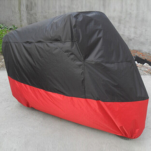 M/L/XL/XXL/XXXL Motorcycle Covers Rain Dust Sun UV Prevention Waterproof for Harley Honda KTM Suzuki All Scooter Outdoor Covers