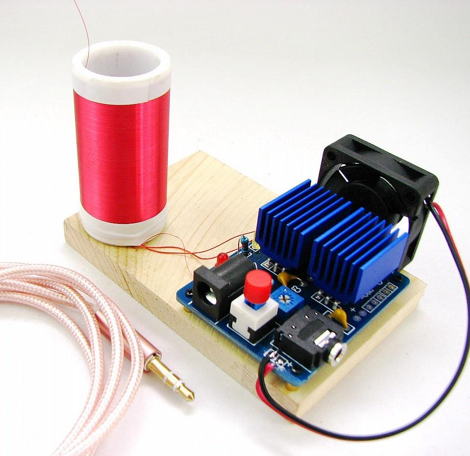Micro Music tesla coil tiny Plasma Speaker Electronic DIY Kits geek soldering welding KITS матрас dreamline mix smart zone 90x200
