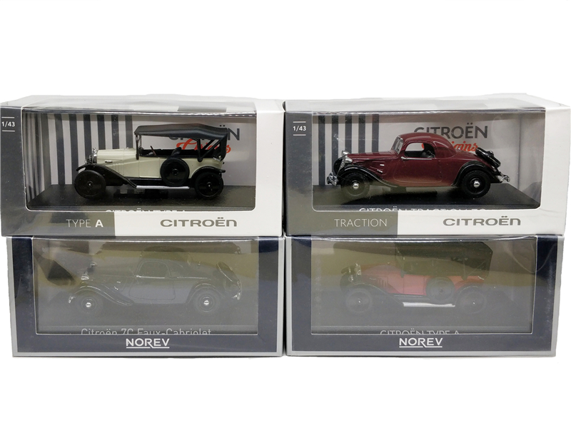 <font><b>1:43</b></font> Norev Citroen 7C Faux-Cabriolet Traction 7C Type A <font><b>Vintage</b></font> Classic <font><b>Diecast</b></font> Model Car image
