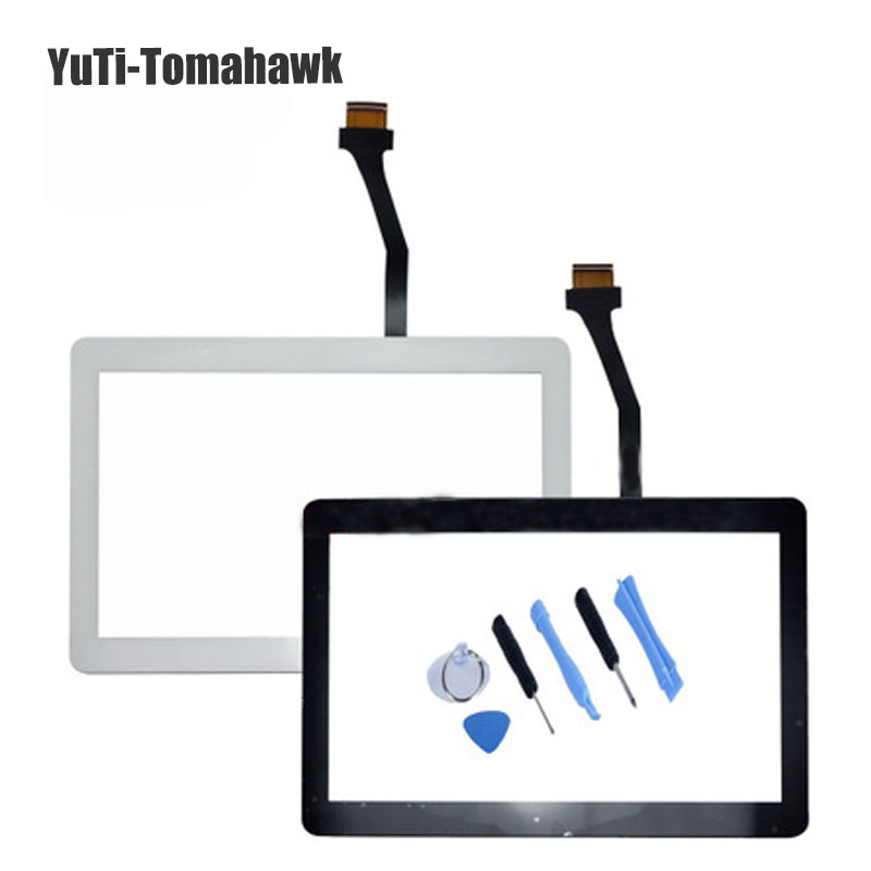 Generic OEM Touch Screen Digitizer Touch Display Outer Front Glass Lens Replacement FOR Samsung P5113 P5100 Galaxy Tab 2 10.1 touch screen digitizer glass lens with tape for samsung galaxy tab 4 10 1 t530 t531 with tools free dhl